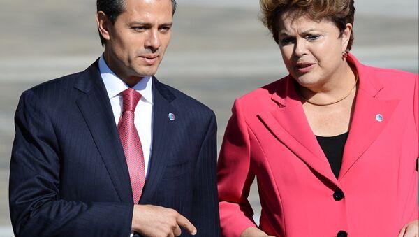 Meksika prezidenti Enrike Penya Nyeto - Sputnik Oʻzbekiston