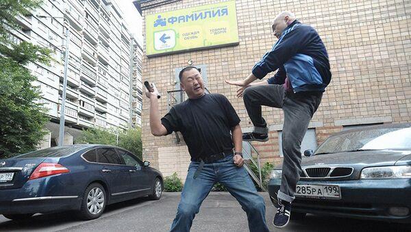 Rejissyor Pavel Bardinning «Salam, MASKVA» filmidan lavha - Sputnik Oʻzbekiston