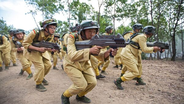 китайская армия - Sputnik Ўзбекистон