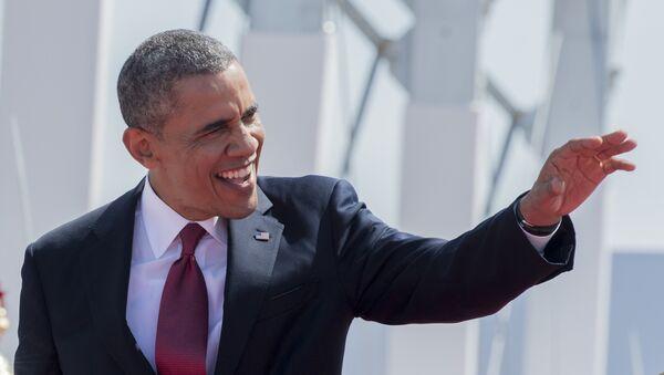 Америка Қўшма Штатлари президенти Барак Обама - Sputnik Ўзбекистон