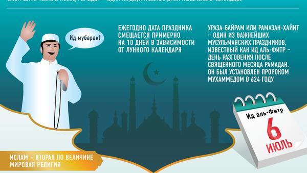 Ид аль-Фитр — праздник разговения и примирения - Sputnik Узбекистан