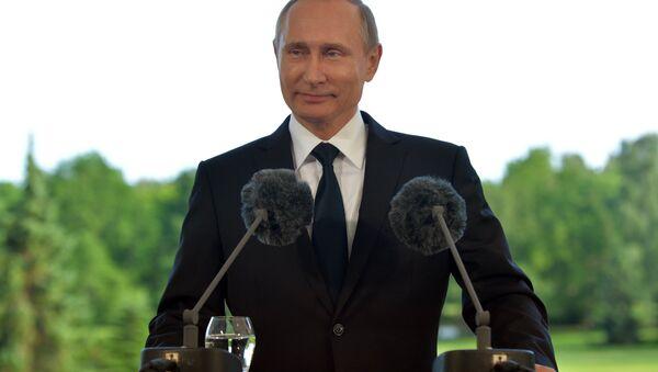 Рабочий визит президента РФ В. Путина в Финляндию - Sputnik Узбекистан