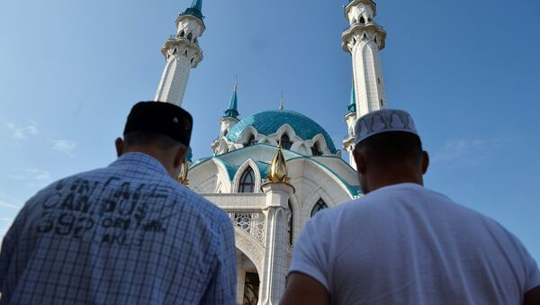 Празднование Ураза-байрама в России - Sputnik Узбекистан