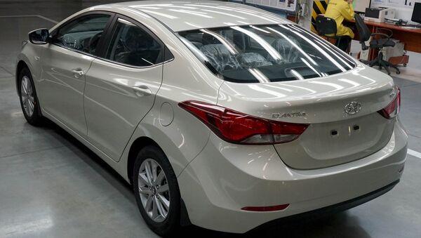 Hyundai Elantra avtomobili - Sputnik Oʻzbekiston