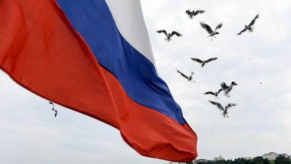 Флаг России - Sputnik Узбекистан