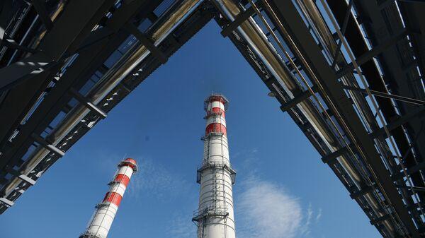 Ввод в эксплуатацию ТЭС - Sputnik Узбекистан
