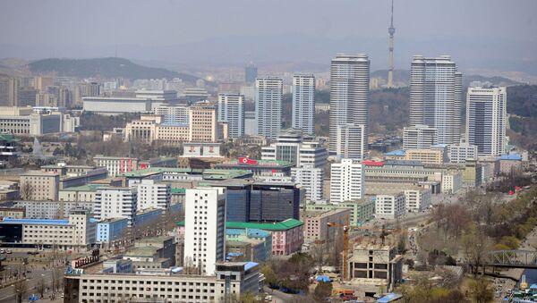 Пхеньян шаҳри, Шимолий Корея - Sputnik Ўзбекистон