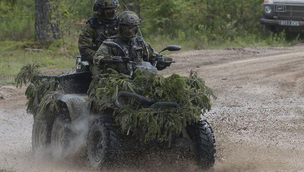 Учения НАТО в Эстонии - Sputnik Ўзбекистон