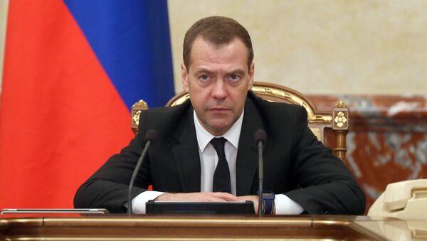 Rossiya Bosh vaziri Dmitriy Medvedev - Sputnik Oʻzbekiston