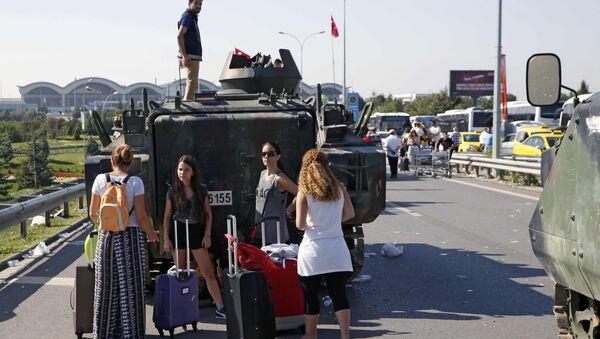 Попытка военного переворота в Турции - Sputnik Узбекистан