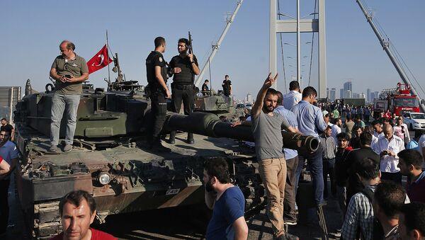 Ситуация в Турции - Sputnik Узбекистан