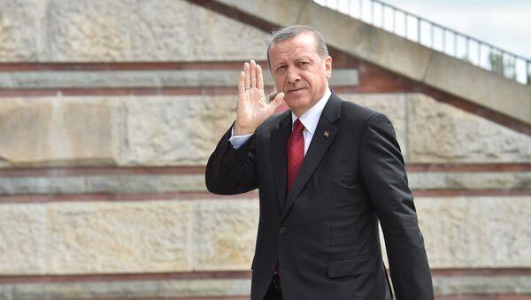 Президент Турции Реджеп Тайип Эрдоган - Sputnik Узбекистан