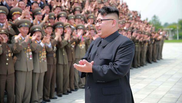 Shimoliy Koreya rahbari Kim Chen In - Sputnik Oʻzbekiston