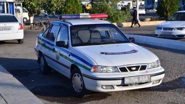 Узбекский милицейский автомобиль - Sputnik Ўзбекистон