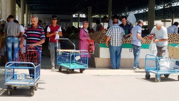 На одном из ташкентских базаров - Sputnik Ўзбекистон