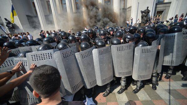 Протестные акции в Киеве - Sputnik Ўзбекистон