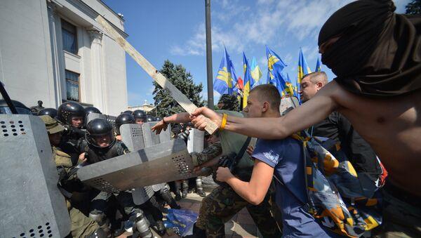 Протестные акции в Киеве - Sputnik Узбекистан
