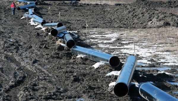 Строительство газопровода - Sputnik Ўзбекистон