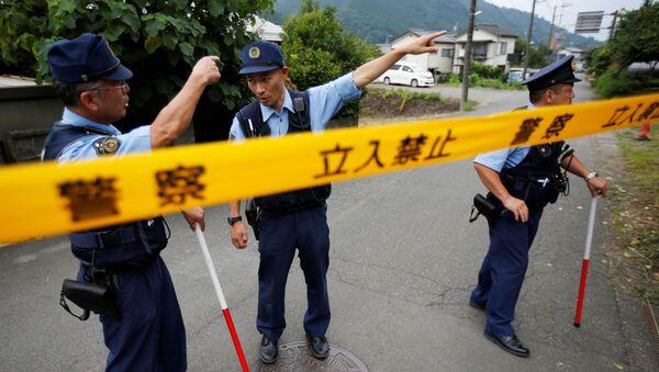 Полицейское расследование в Японии - Sputnik Ўзбекистон