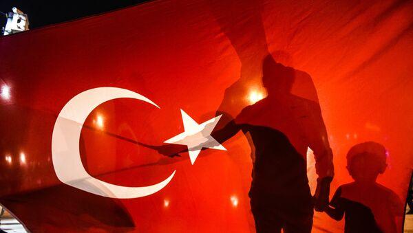Turkiya bayrogʻi - Sputnik Oʻzbekiston