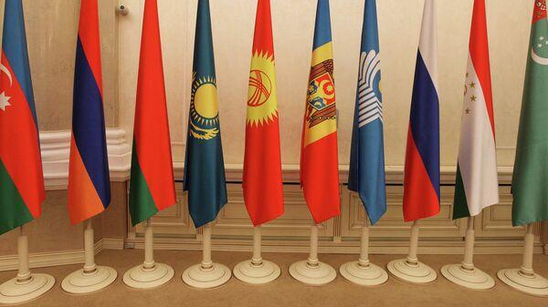 Флаги стран участниц СНГ - Sputnik Узбекистан