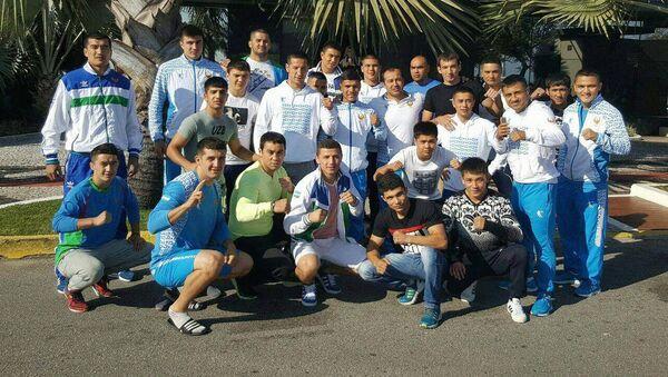 Узбекская олимпийская сборная по боксу - Sputnik Ўзбекистон