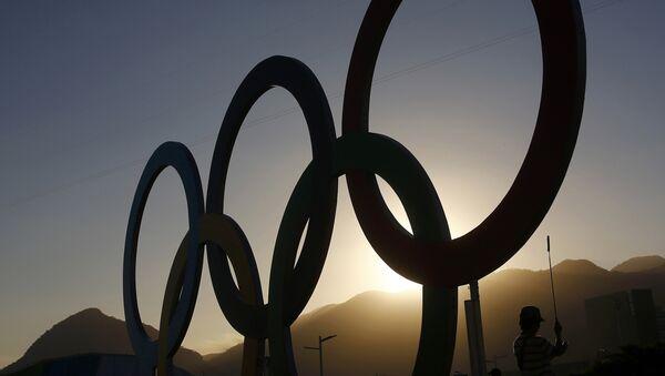 Олимпийские кольца - Sputnik Узбекистан