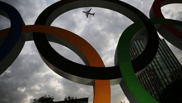 ио-де-Жанейрода бўлиб ўтадиган ёзги Олимпиада ўйинлари рамзий бегиси - Sputnik Ўзбекистон