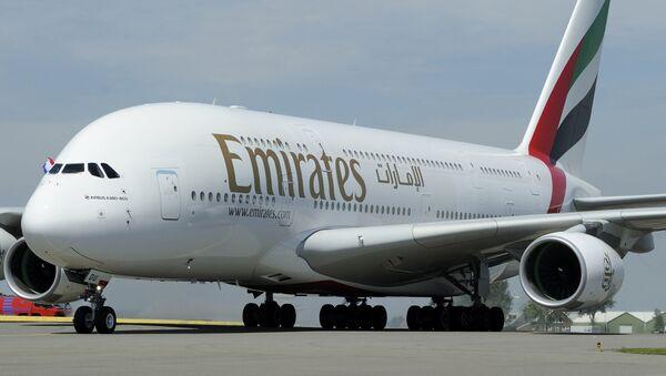 Samolet Emirates Airlines - Sputnik Oʻzbekiston