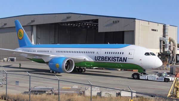 Boeing-787 Dreamliner - Sputnik Oʻzbekiston