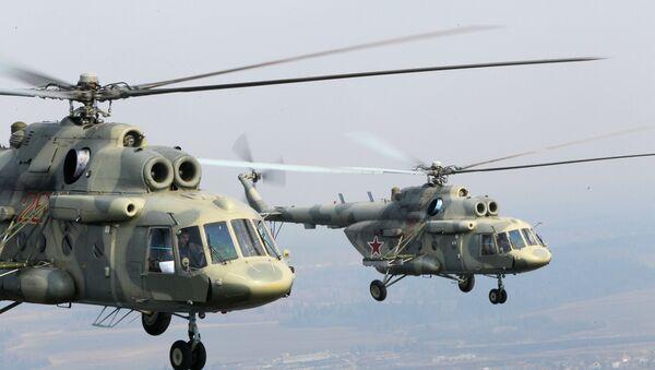 Mi-17 vertoleti - Sputnik Oʻzbekiston