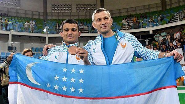 Дзюдоист Ришод Собиров принес Узбекистану вторую медаль Олимпиады - Sputnik Ўзбекистон