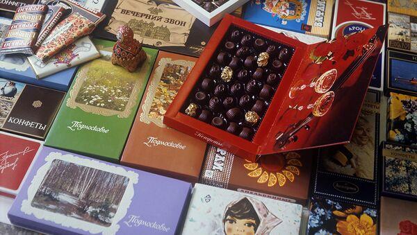 Коробки с конфетами - Sputnik Узбекистан