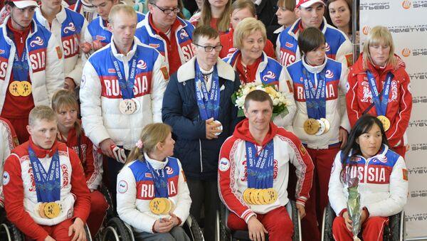Российские спортсмены-паралимпийцы - Sputnik Узбекистан