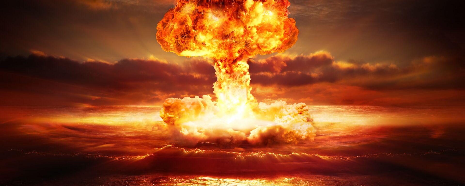 Ядерный взрыв - Sputnik Ўзбекистон, 1920, 15.10.2020