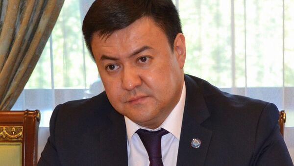 Чрезвычайный и полномочный посол Кыргызской Республики Данияр Сыдыков - Sputnik Узбекистан
