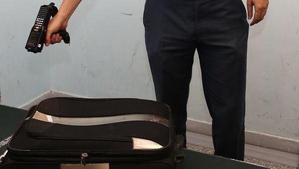 Досмотр и сортировка чемоданов в аэропорту Ташкент - Sputnik Узбекистан