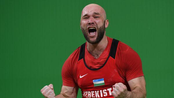 Uzbekistonlik ogʻir atletikachi Ruslan Nurudinov - Sputnik Oʻzbekiston