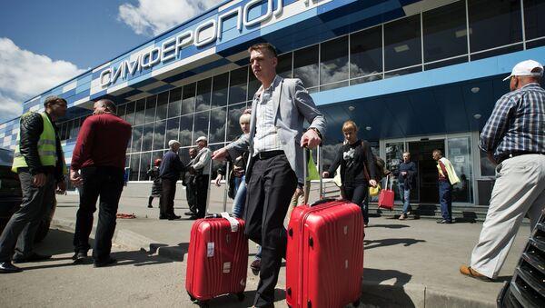 Международный аэропорт Симферополь - Sputnik Узбекистан