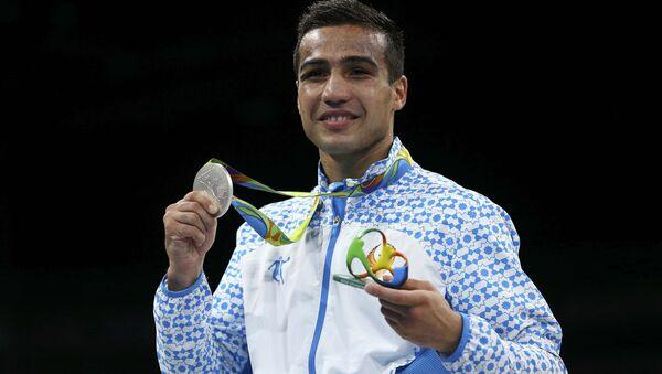 Серебряный призер Олимпиады боксер Шахрам Гиясов - Sputnik Узбекистан