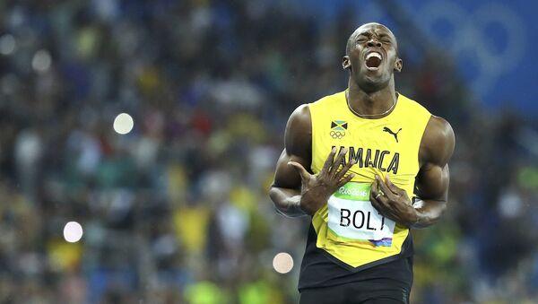 Sakkiz karra Olimpiya chempioni Useyn Bolt: men Ali va Pele bilan tenglasha oldim, deb umid qilaman - Sputnik Oʻzbekiston