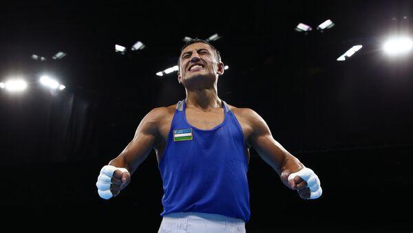 uzbekskiy bokser Fazliddin Gaipnazarov na olimpiade v Rio - Sputnik Oʻzbekiston