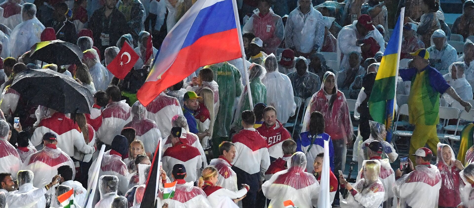 Церемония закрытия XXXI летних Олимпийских игр в Рио-де-Жанейро - Sputnik Узбекистан, 1920, 28.11.2017
