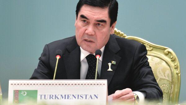 Prezident Turkmenii Gurbangulы Berdыmuxamedov - Sputnik Oʻzbekiston