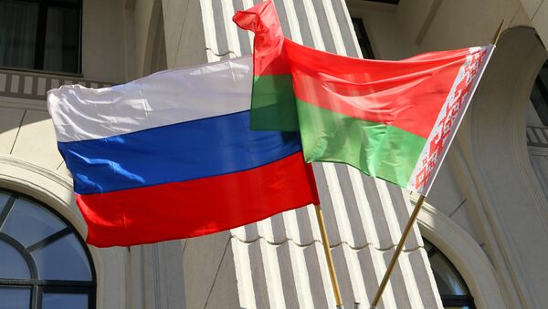 Концерт в честь Дня единения народов России и Белоруссии - Sputnik Ўзбекистон