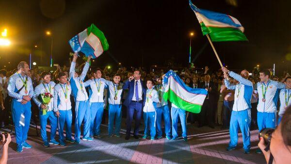 Ташкент встречает олимпийцев - Sputnik Ўзбекистон