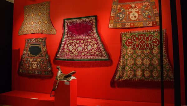 Выставка Культурное наследие Узбекистана - Sputnik Ўзбекистон