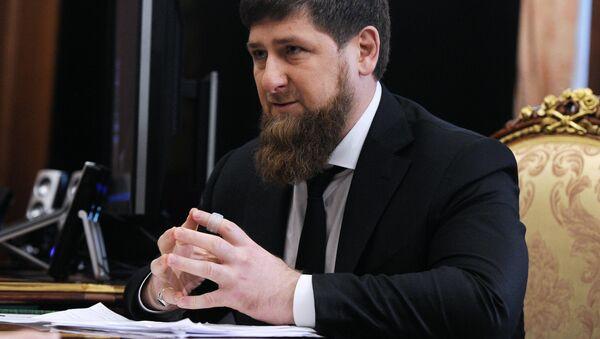 Глава Чечни Рамзан Кадыров - Sputnik Ўзбекистон
