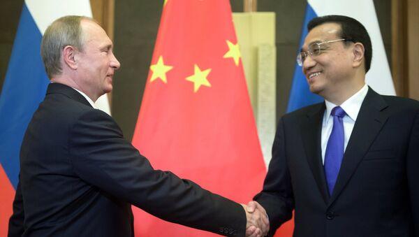 Визит президента РФ В.Путина в Китайскую Народную Республику - Sputnik Узбекистан