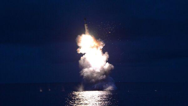 Zapusk raketы v KNDR - Sputnik Oʻzbekiston
